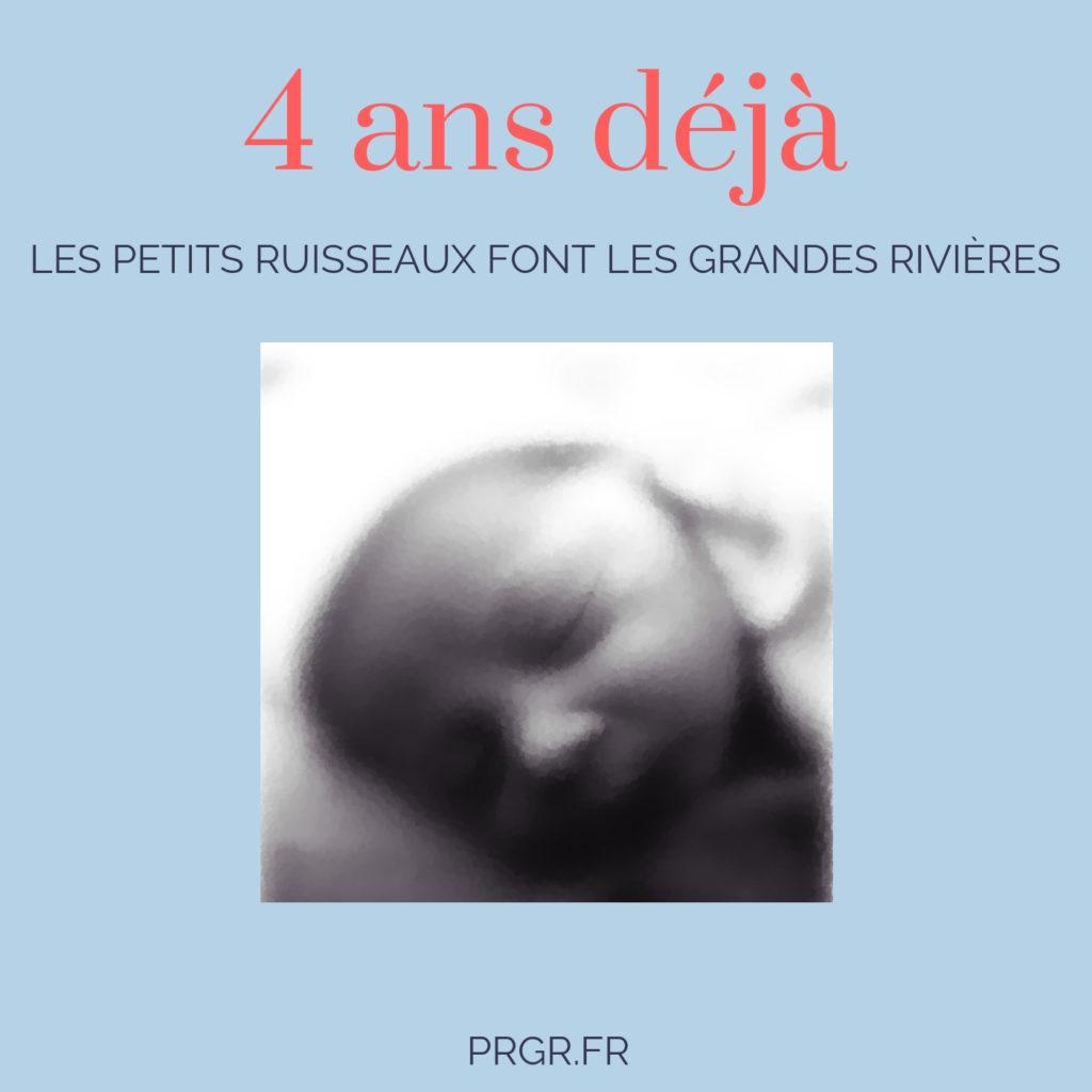 anniversaire 4 ans bébé petit garçon temps qui passe vite blog maman blog famille recomposée blog les petits ruisseaux font les grandes rivieres blog PRGR https://prgr.fr