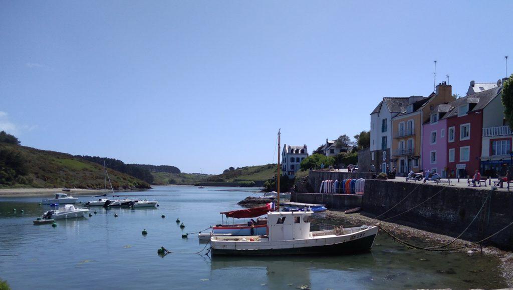 Port de Sauzon belle-île-en-mer bretagne