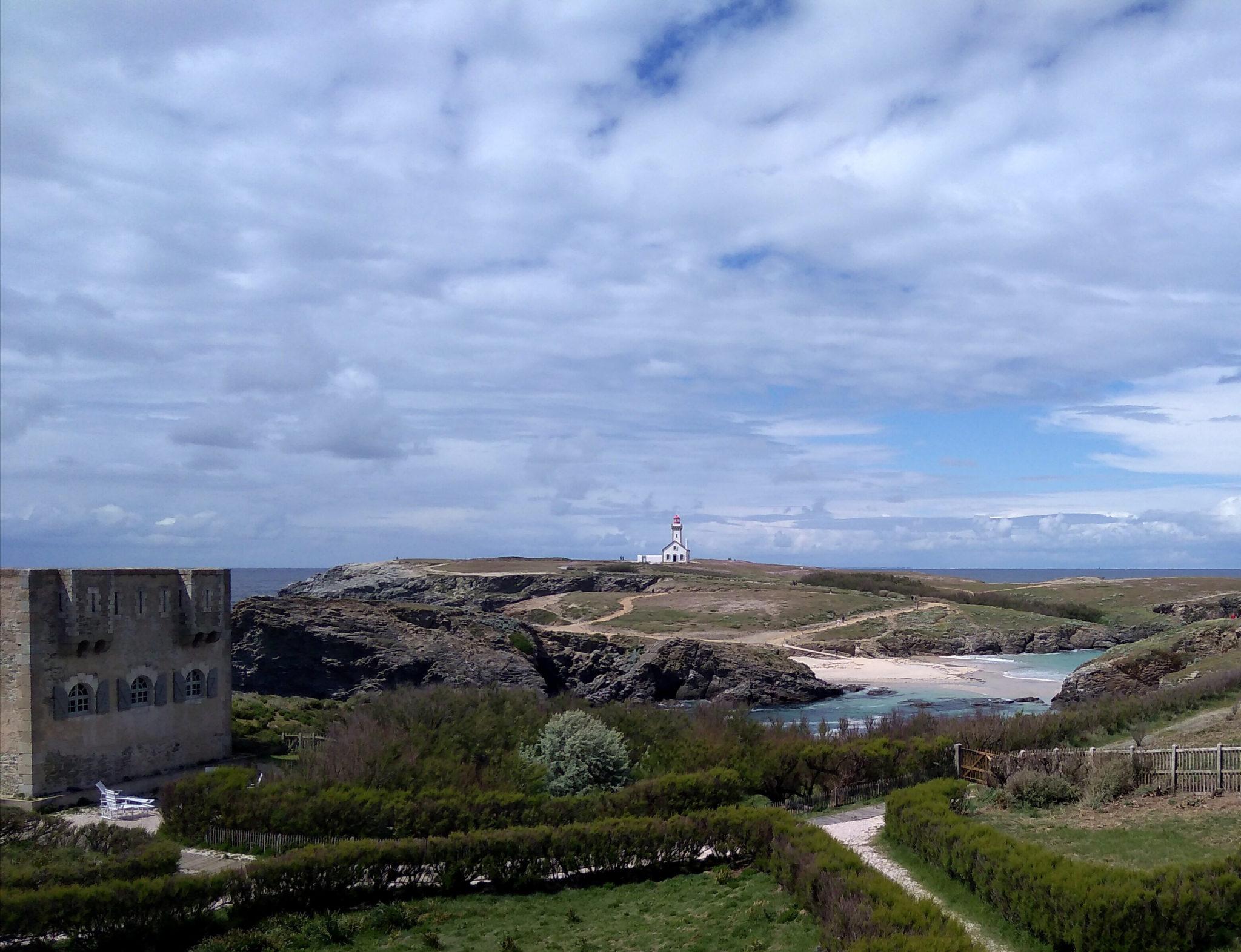 Sarah Bernhardt fortin Pointe des Poulains Belle-île-en-Mer Bretagne week-end amoureux