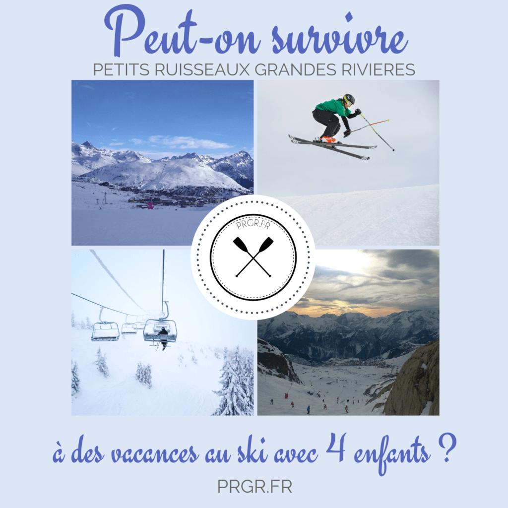 vacances au ski Alpe d'Huez hiver skier neige tartiflette blog maman blog famille recomposée blog les petits ruisseaux font les grandes rivieres blog PRGR https://prgr.fr