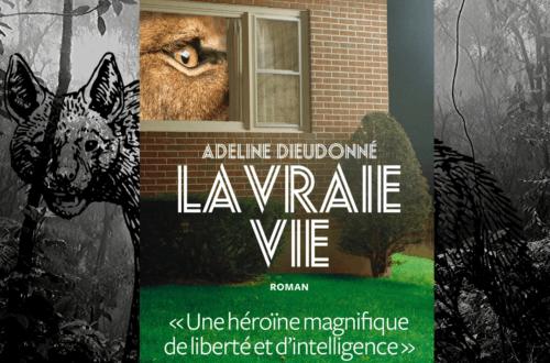La vraie vie Adeline Dieudonné Editions l'Iconoclaste