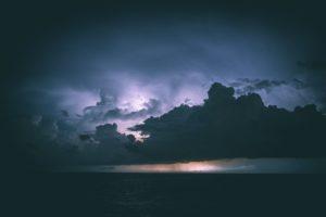 mer ciel météo marine