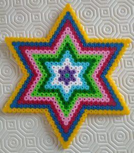 étoile perles hama