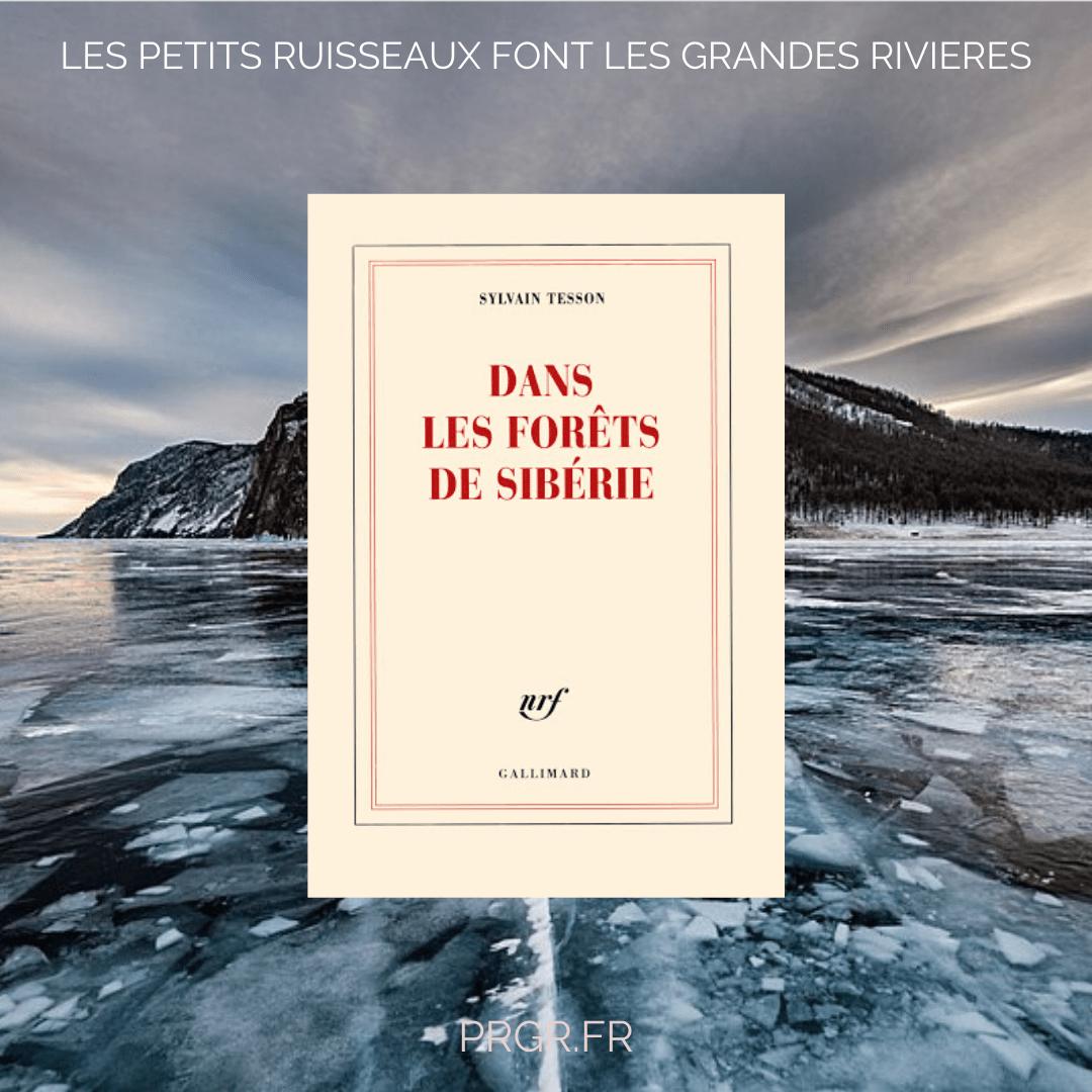 dans les forêts de Sibérie Sylvain Tesson