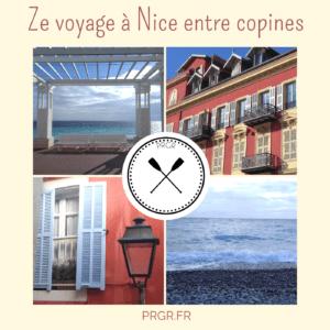 voyage à Nice entre copines
