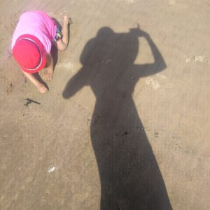 PRGR et Lapin sur la plage